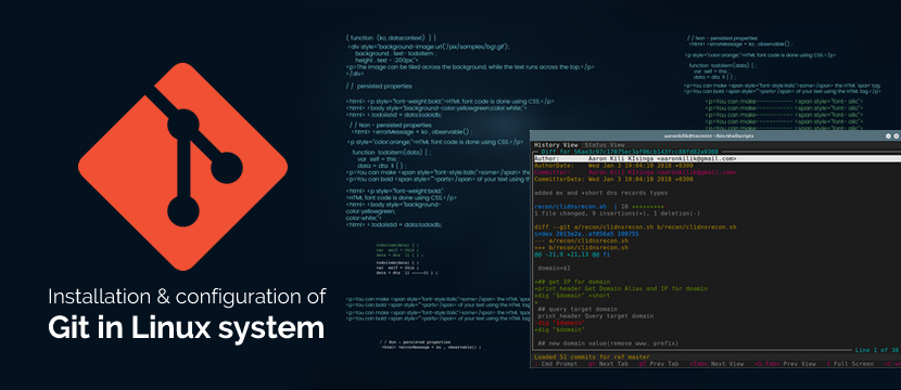 installation and configuration of Git in Linux system